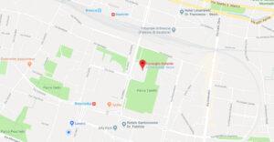Mappa della sede del Consiglio Notarile di Brescia